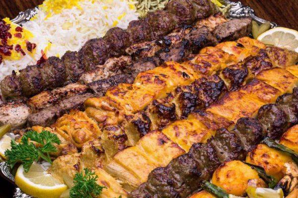 کباب رستوران نگین شبدیز